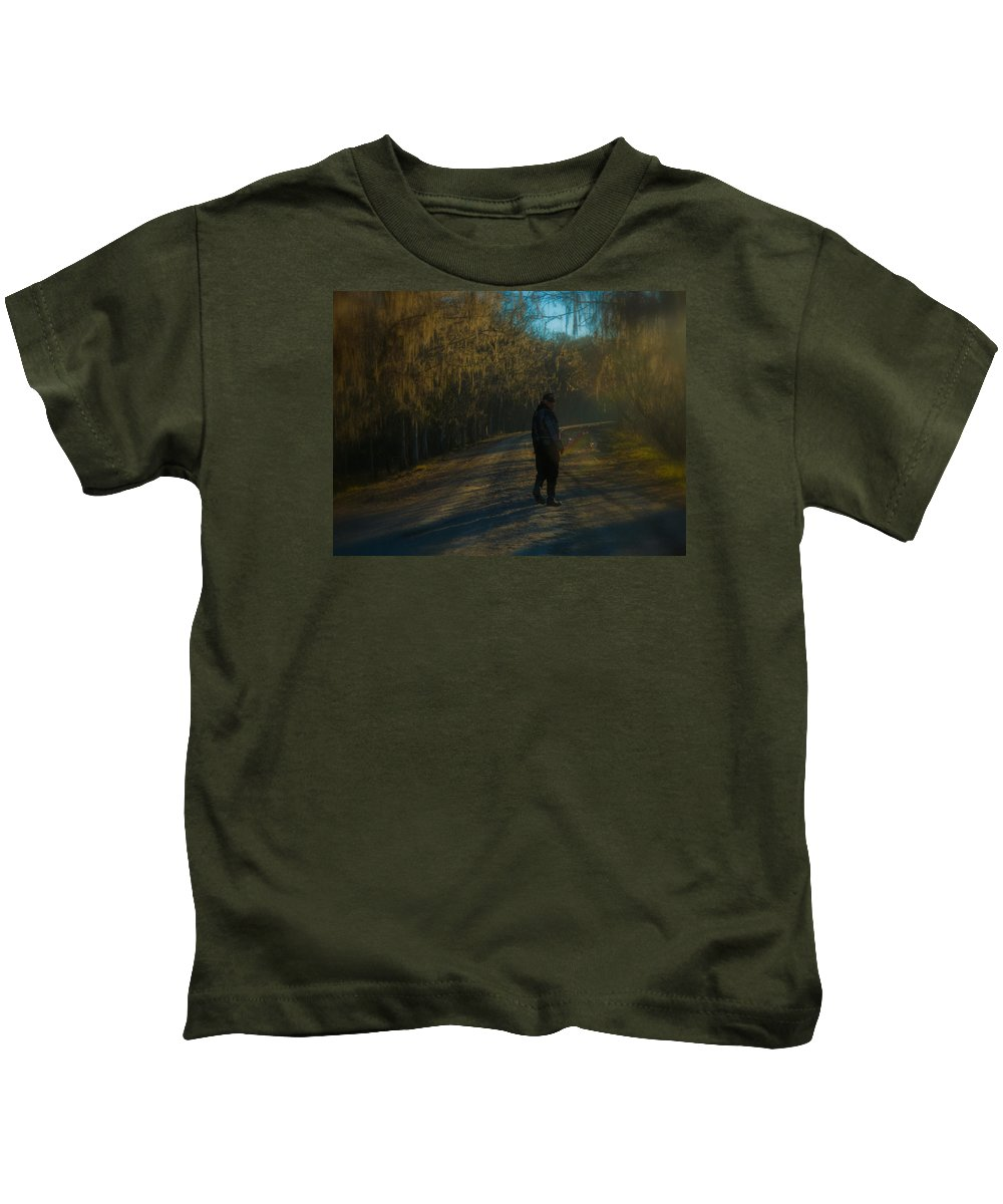 Orcinus Fotograffy Kids T-Shirt featuring the photograph Wind Of Change by Kimo Fernandez