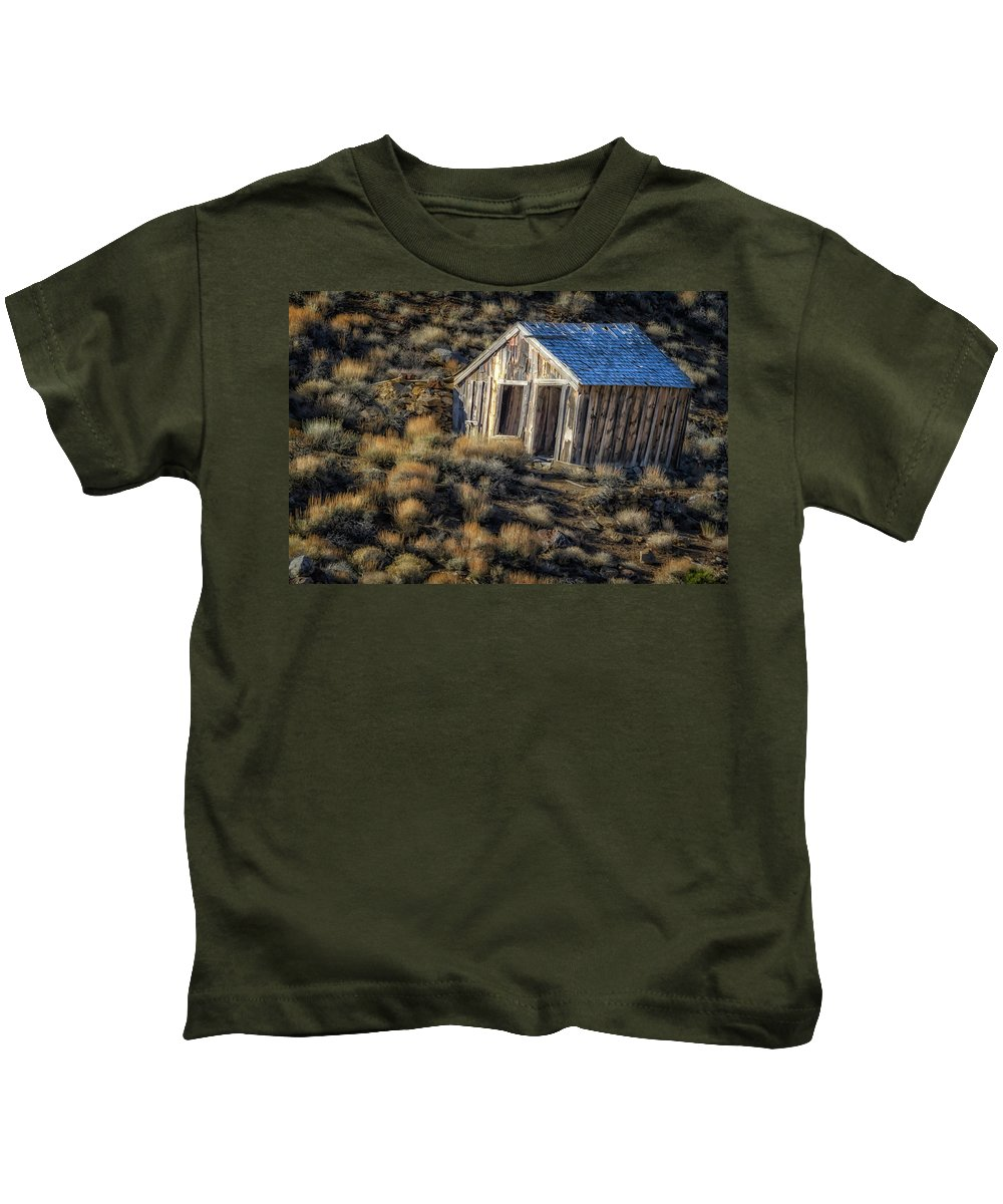 Vintage Kids T-Shirt featuring the photograph Rustic 4461 by Karen Celella