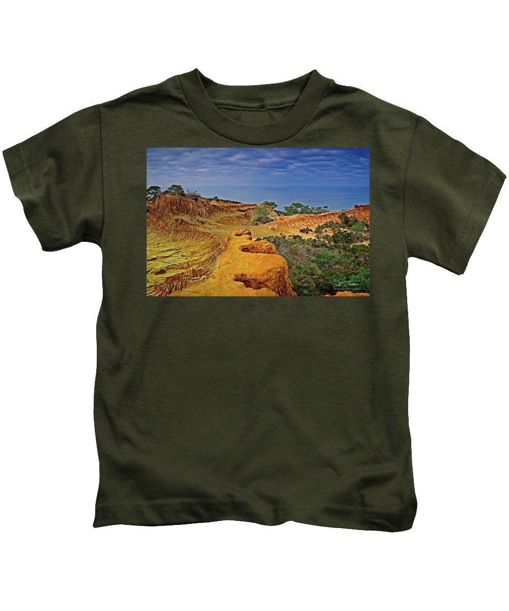Broken Hill Kids T-Shirt featuring the photograph Broken Hill Panoramic II by Bill Thomas