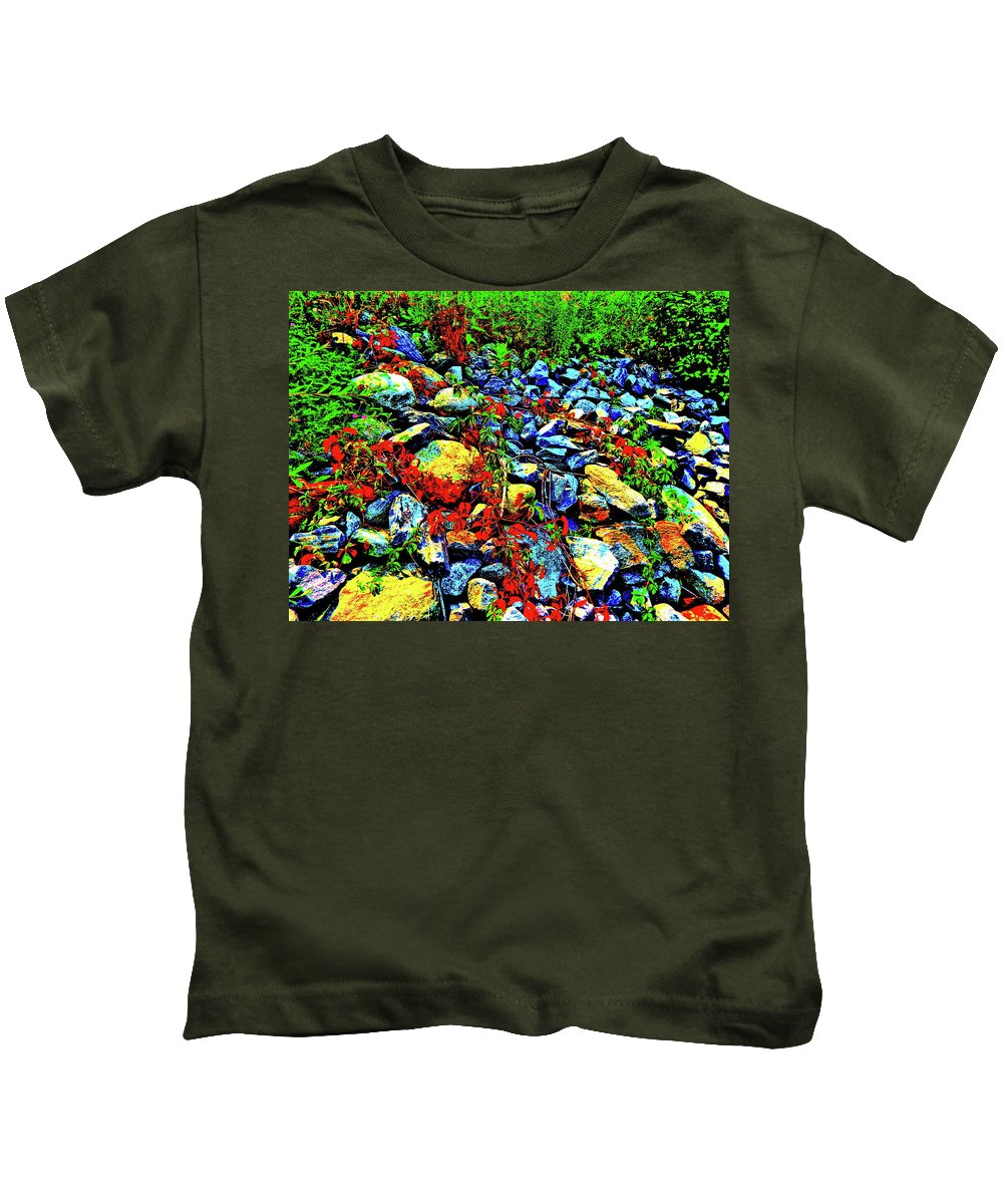 Landscape Kids T-Shirt featuring the photograph Canton Central 16 by George Ramos