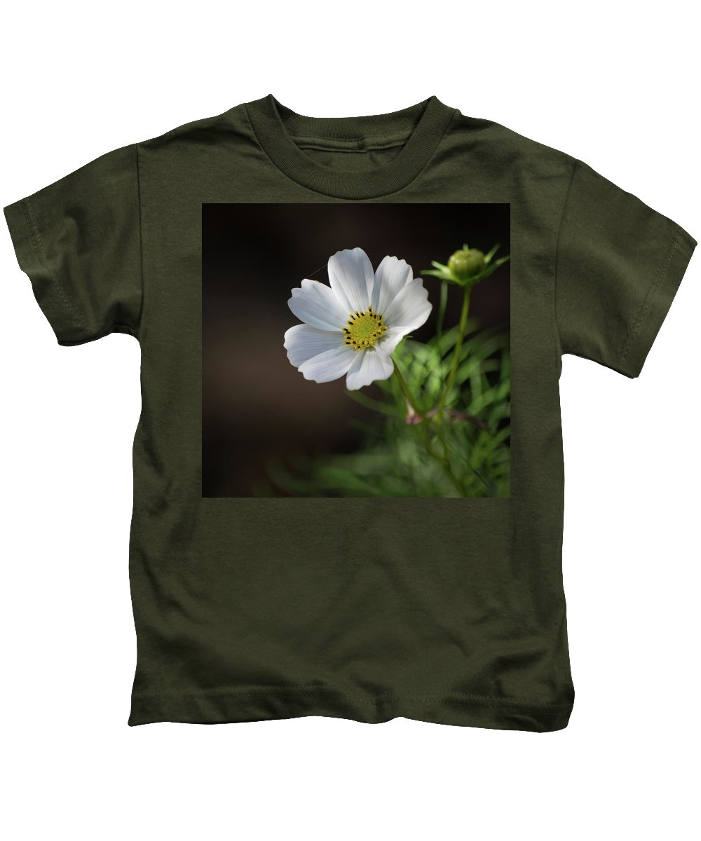 Flower Kids T-Shirt featuring the photograph Cosmos In The Cottage Garden by Lucy Banks