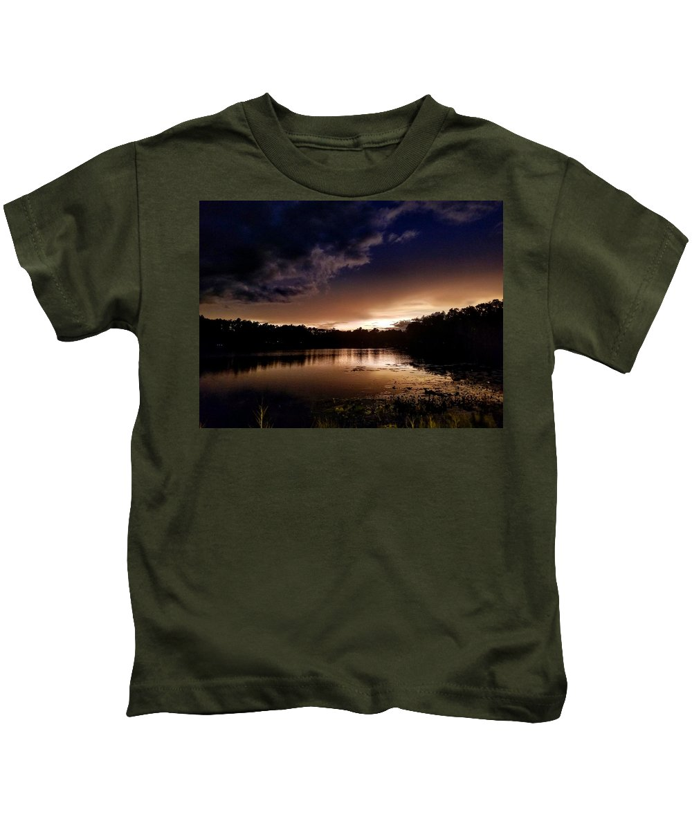 Sunset Seascape Kids T-Shirts
