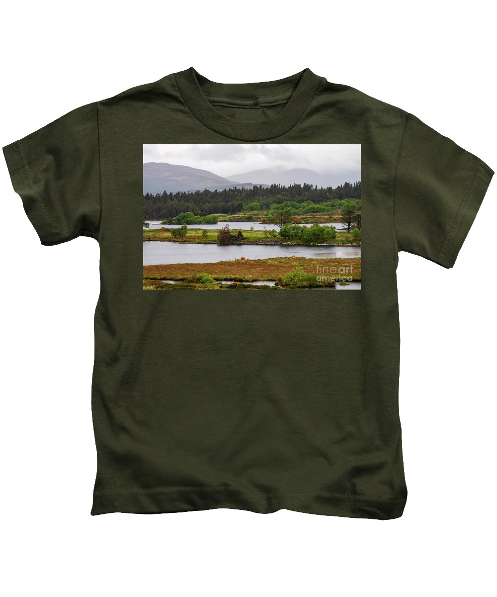 County Kerry Kids T-Shirt featuring the photograph Lough Cloonee by Bob Phillips