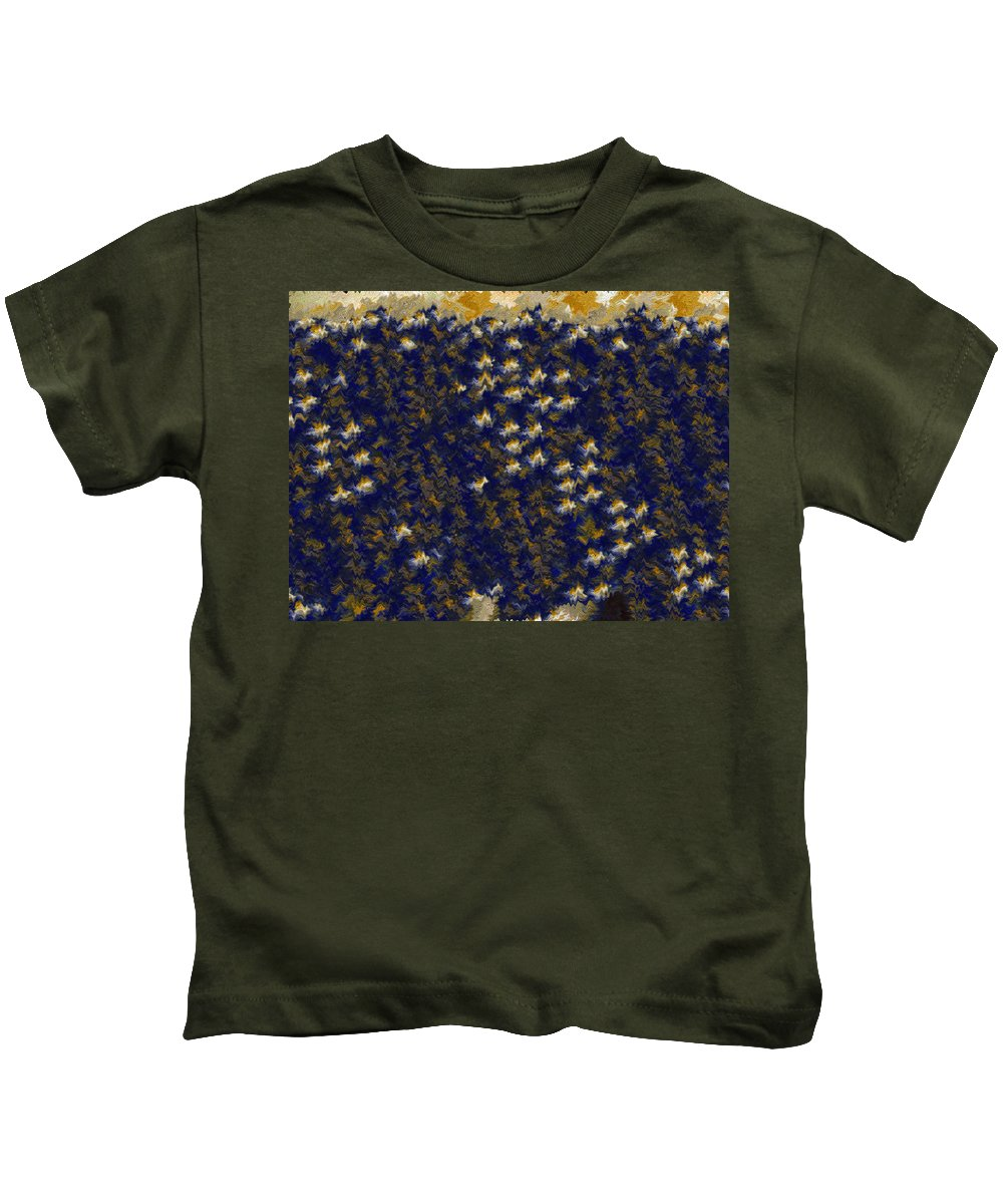 Kids T-Shirt featuring the digital art ucla Inspired by Margaret Meg Murray