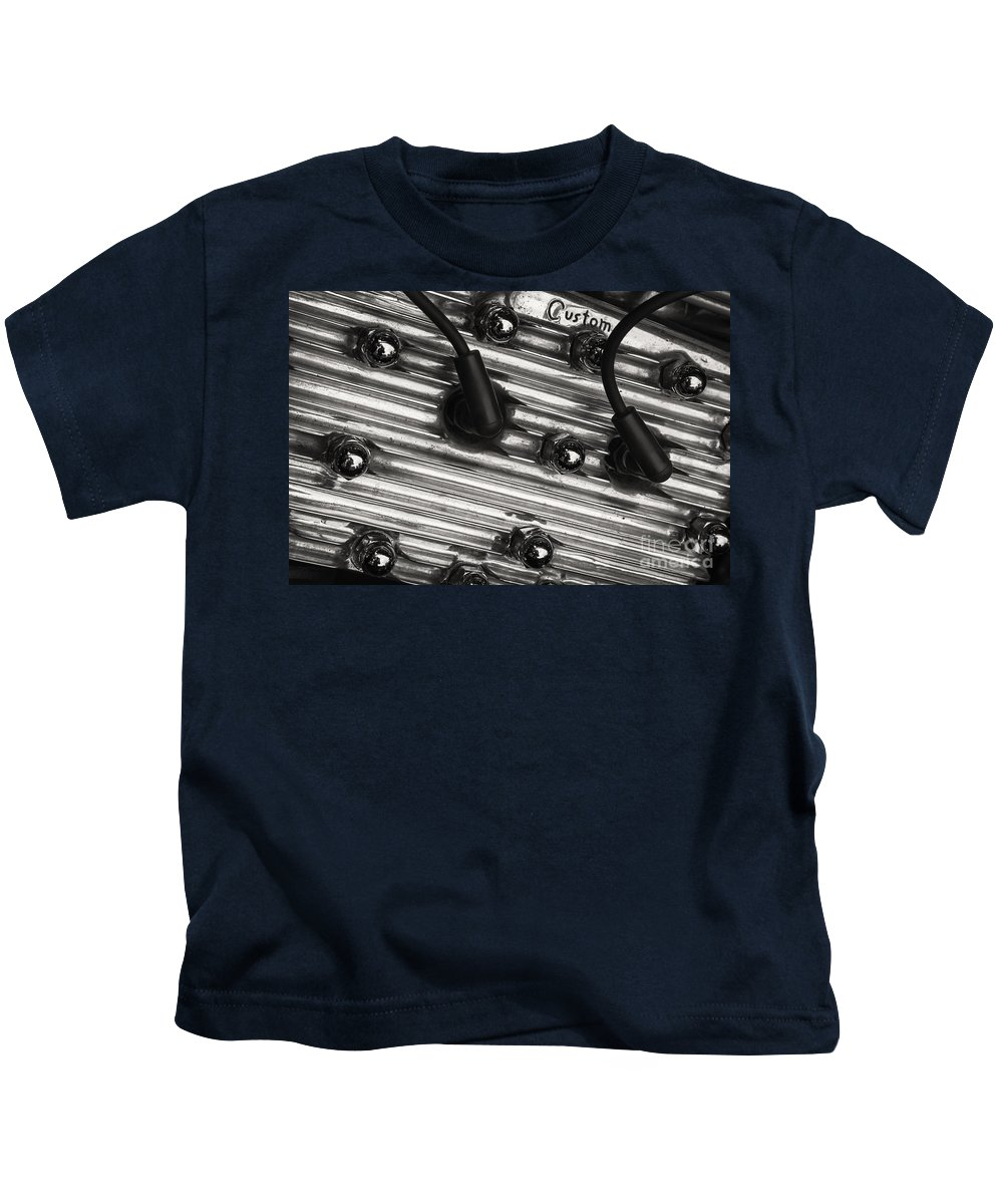 Flathead Ford Kids T-Shirt featuring the photograph Flathead by Dennis Hedberg