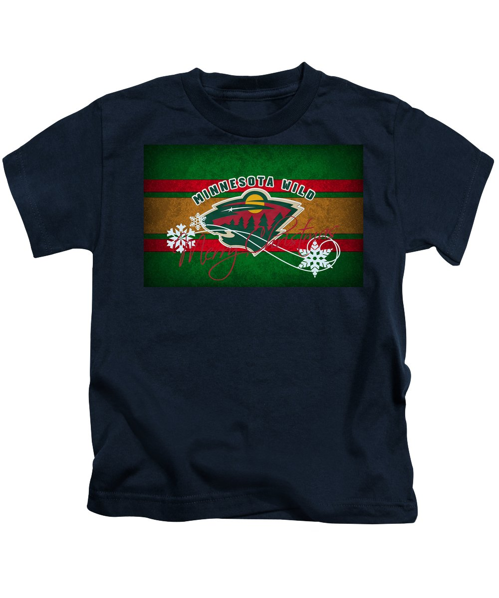 Wild Kids T-Shirt featuring the photograph Minnesota Wild by Joe Hamilton