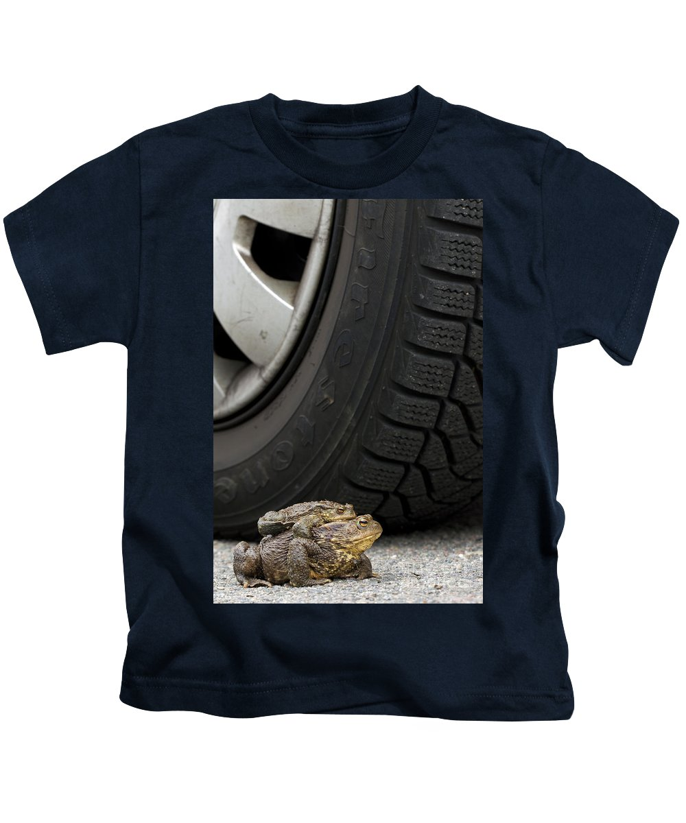 Amplexus Kids T-Shirt featuring the photograph 110714p110 by Arterra Picture Library