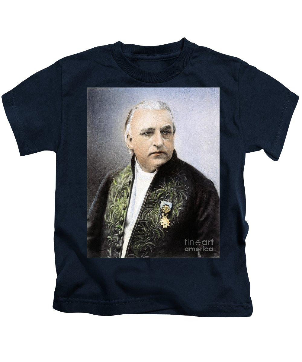19th Century Kids T-Shirt featuring the photograph Jean Martin Charcot by Granger