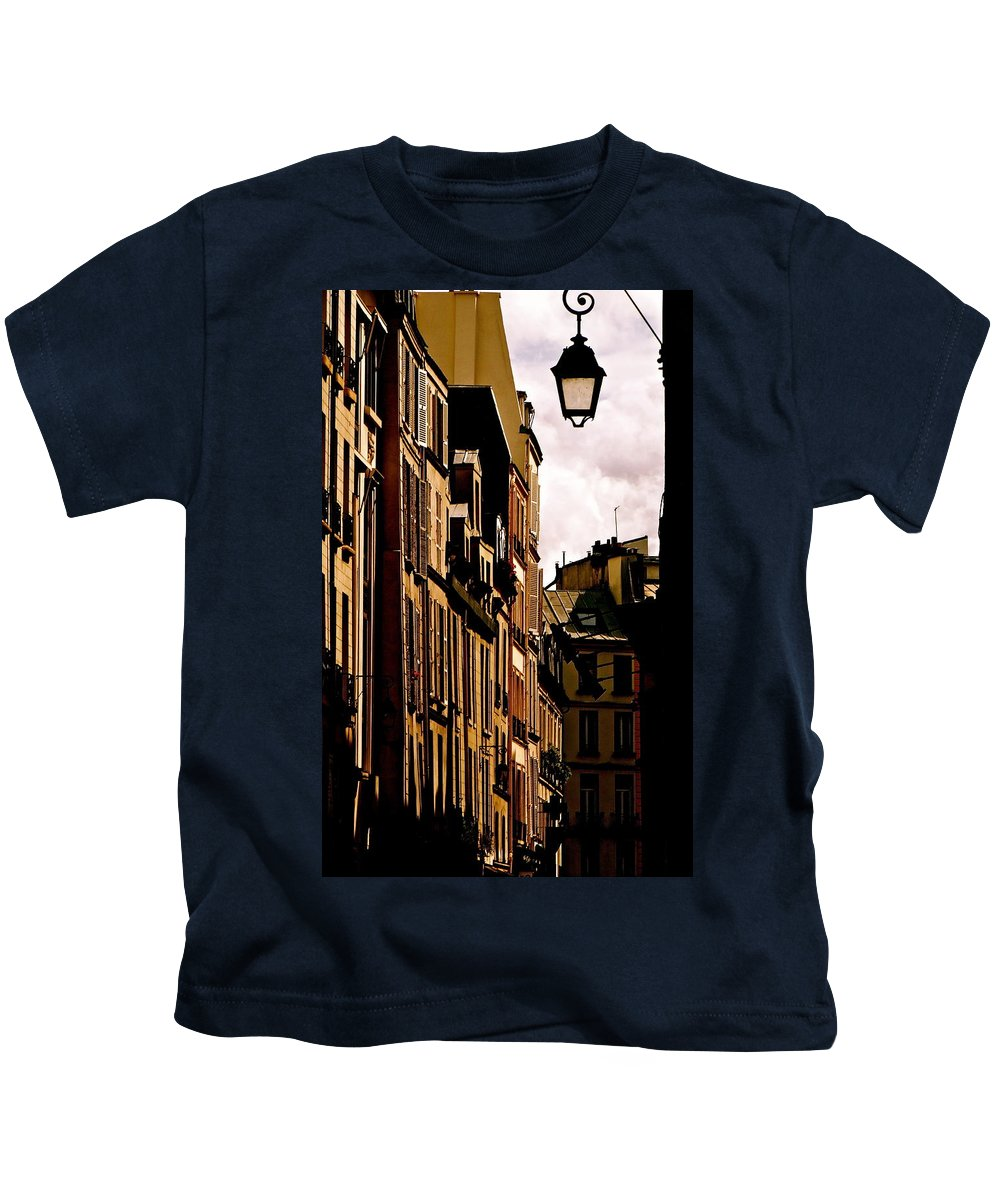 Left Bank Kids T-Shirt featuring the photograph Ancient Paris by Ira Shander