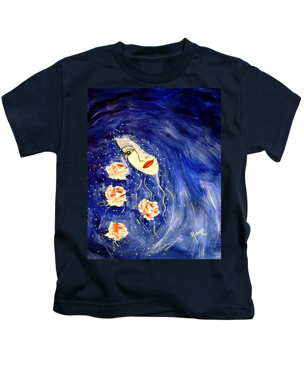 Love Kids T-Shirt featuring the painting And Her Love Grows... by Robin Monroe