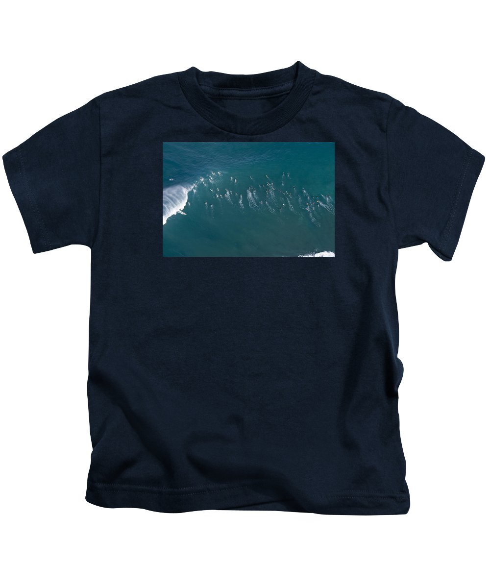 Surfers Kids T-Shirt featuring the photograph Ants Nest by Sean Davey