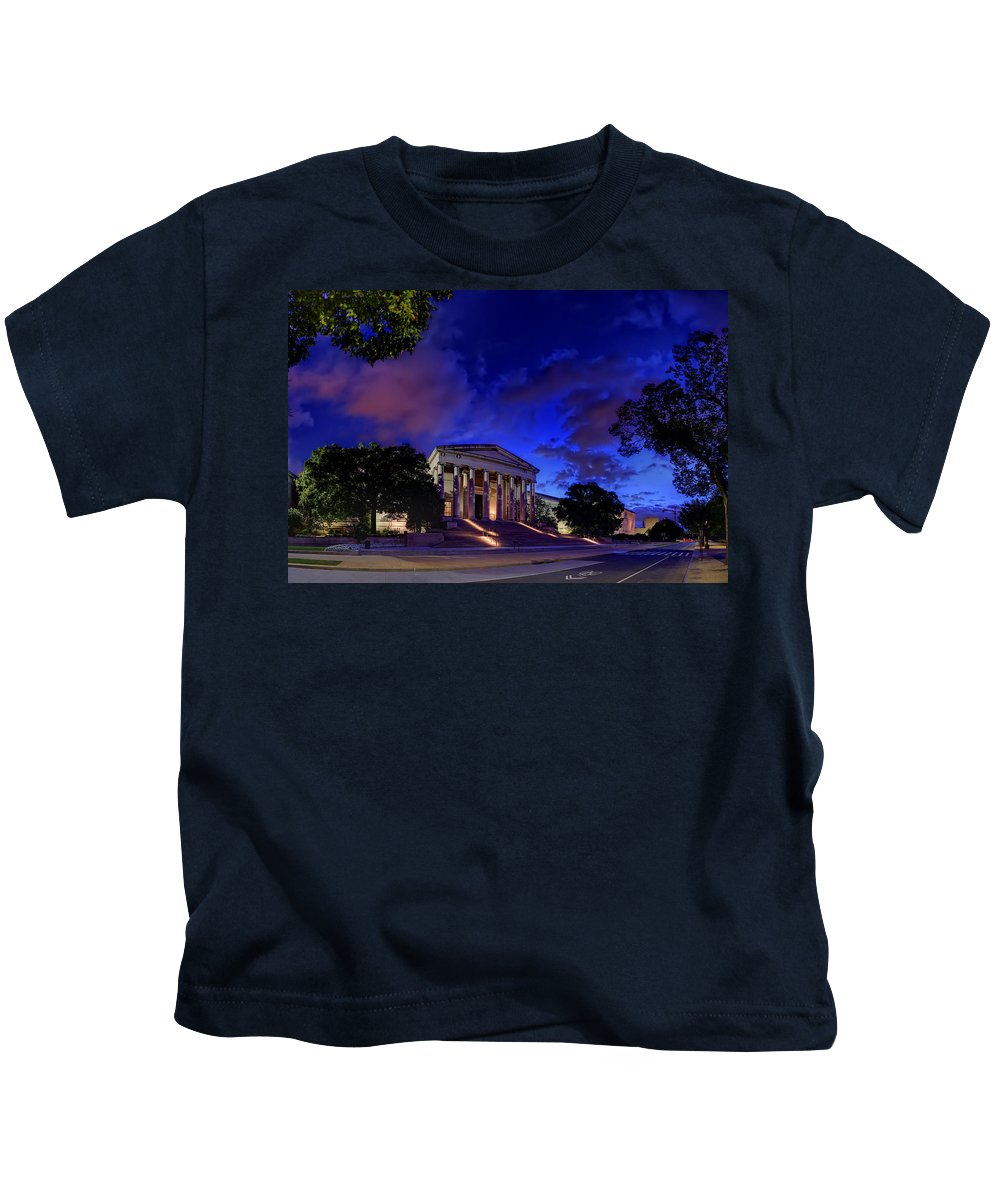 Metro Kids T-Shirt featuring the photograph Art Road by Metro DC Photography