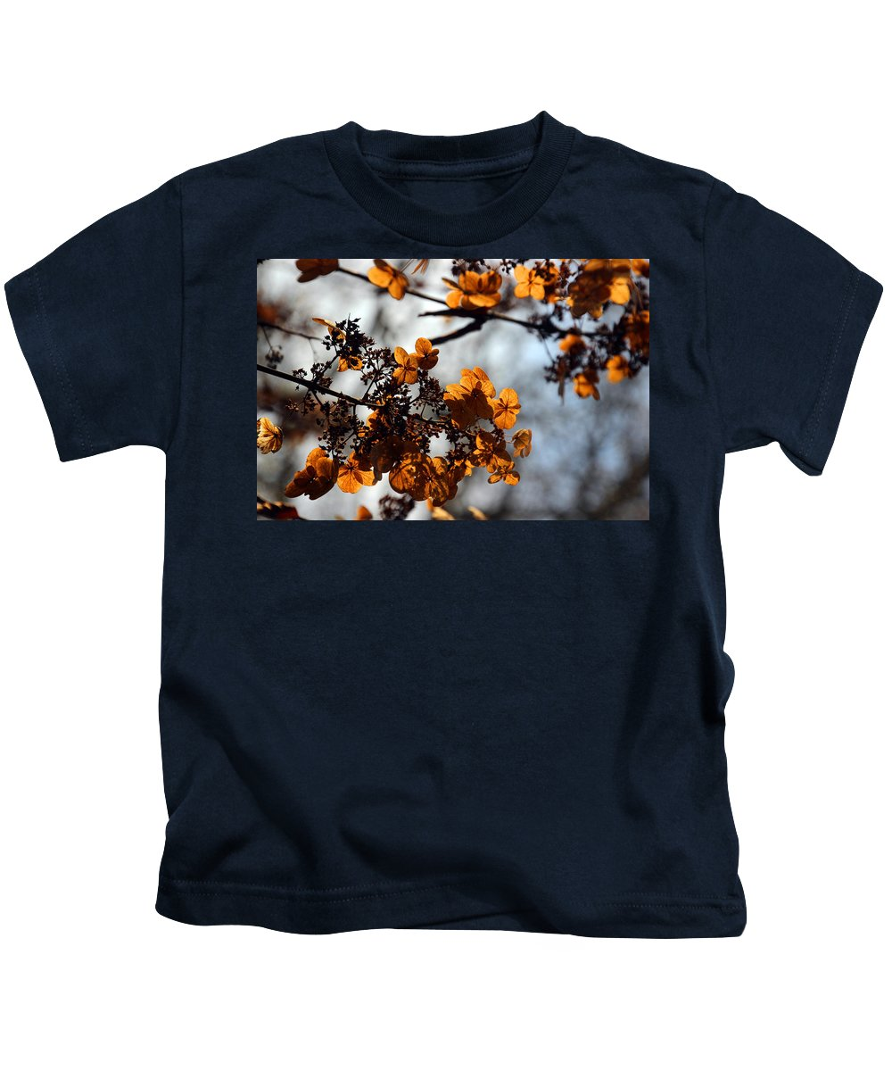 Flower Kids T-Shirt featuring the photograph Tardiva Hydrangea by Carolyn Stagger Cokley