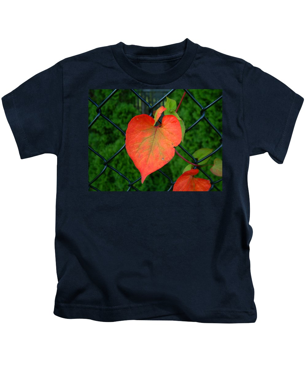 Vine Kids T-Shirt featuring the photograph Autumn In July by RC deWinter