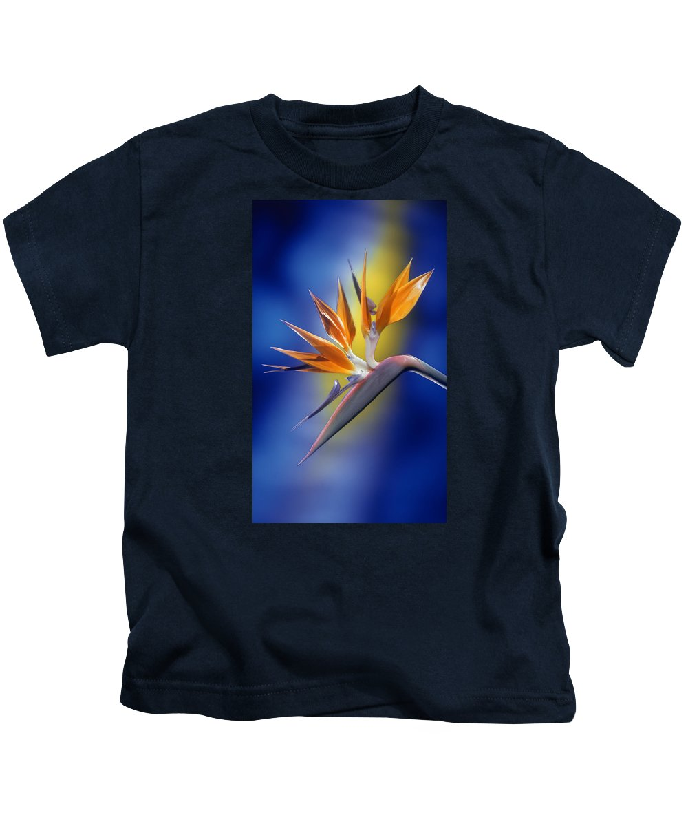Bird Of Paradise Kids T-Shirt featuring the photograph Bird Of Paradise by Kirk Ellison