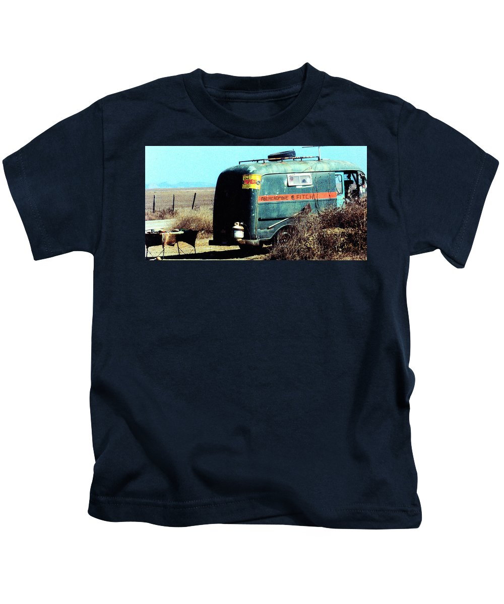 Satire Kids T-Shirt featuring the photograph Birth Of High End Retail by Steve Archbold