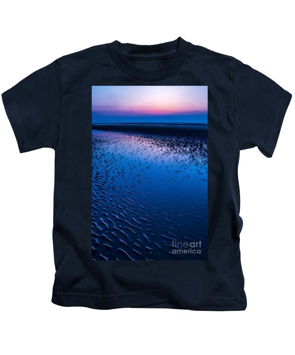 Bay Kids T-Shirt featuring the photograph Blue Hour by Adrian Evans