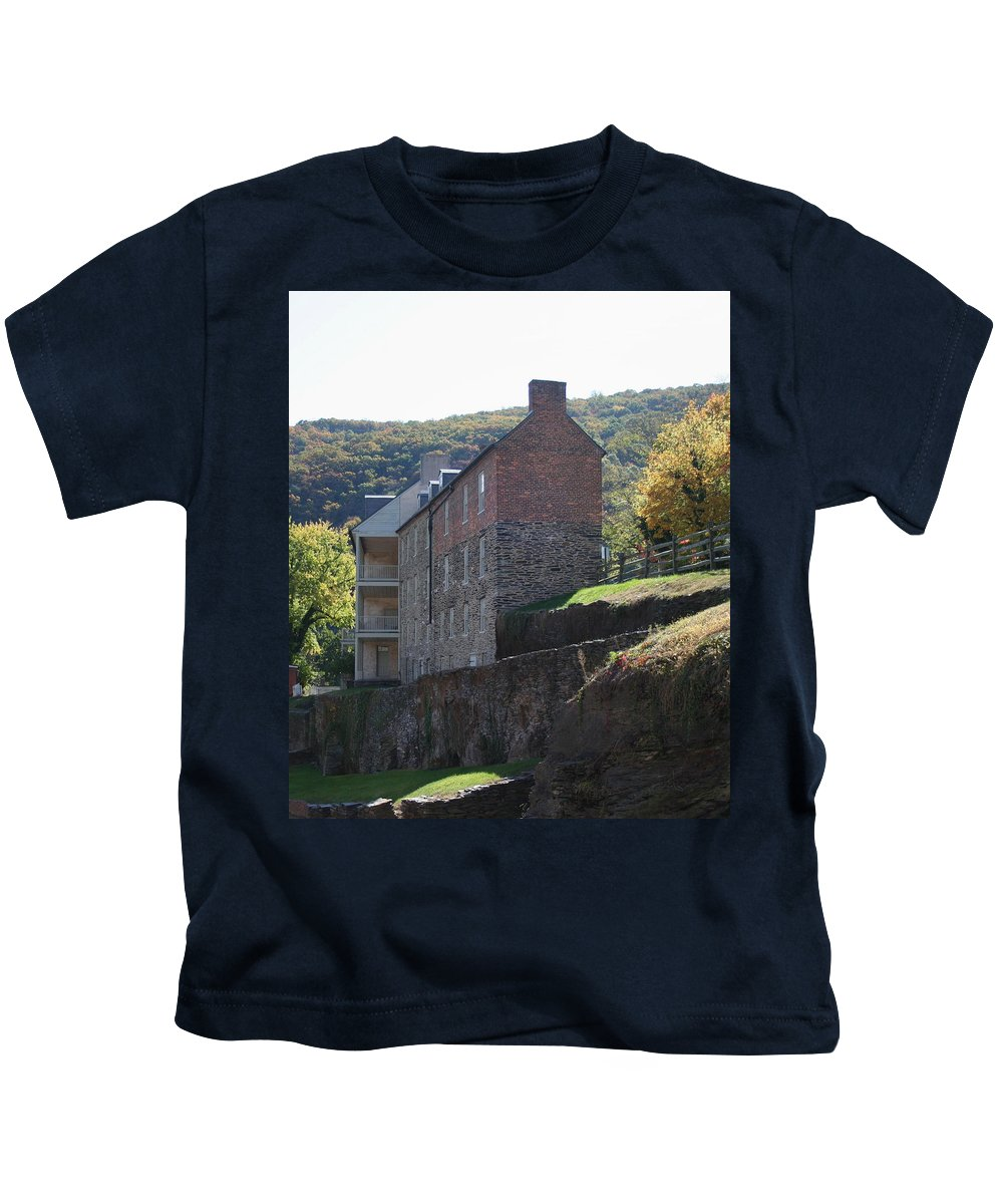 Rock Kids T-Shirt featuring the photograph Built On A Rock by Rebecca Smith