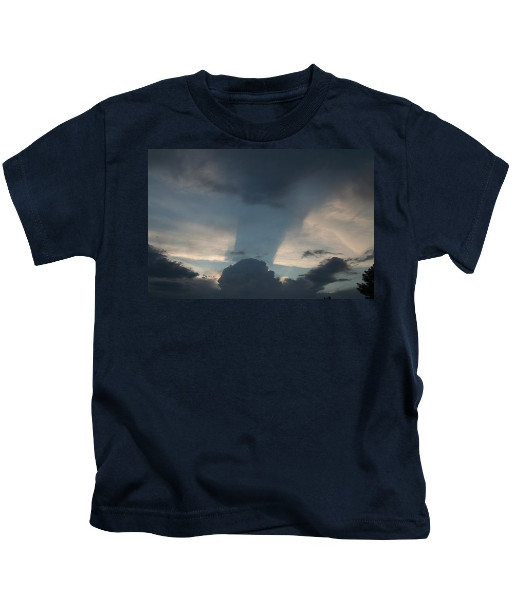 Sky Kids T-Shirt featuring the photograph Cloud Shadow by David S Reynolds