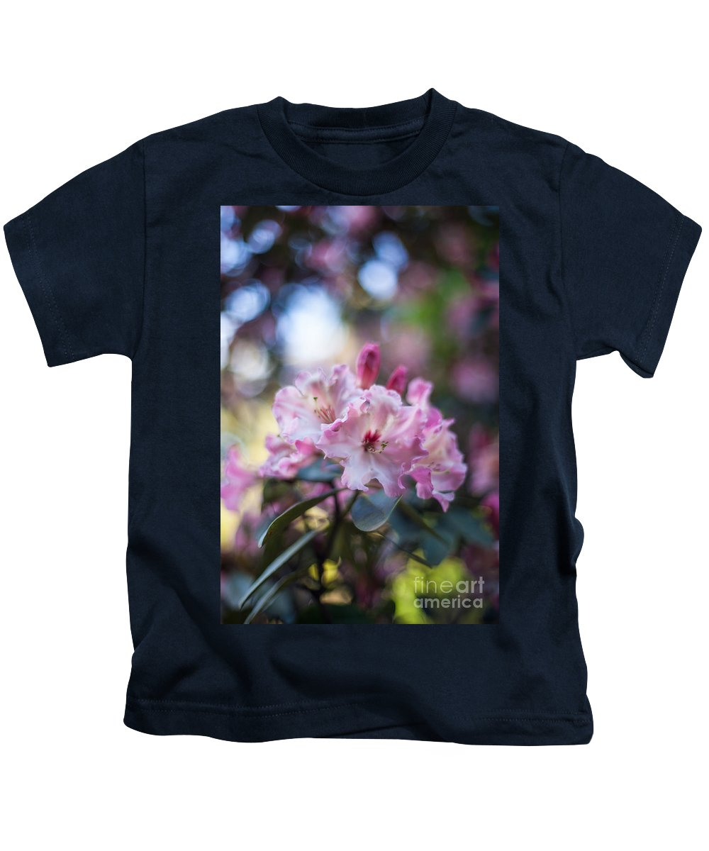 Flower Kids T-Shirt featuring the photograph Crown Of Rhodies by Mike Reid