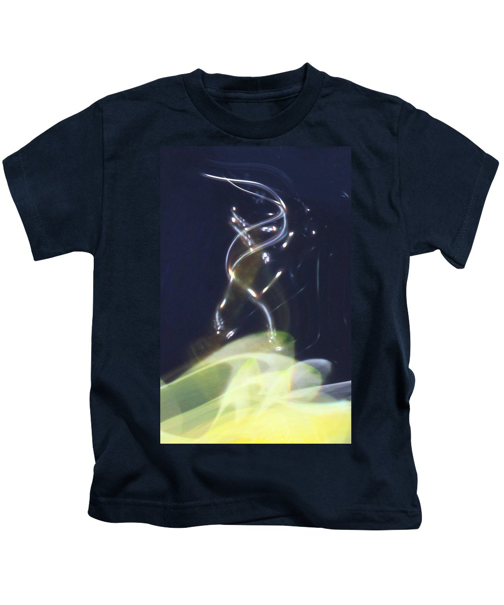 Abstract Kids T-Shirt featuring the digital art Enlightenment by Richard Thomas