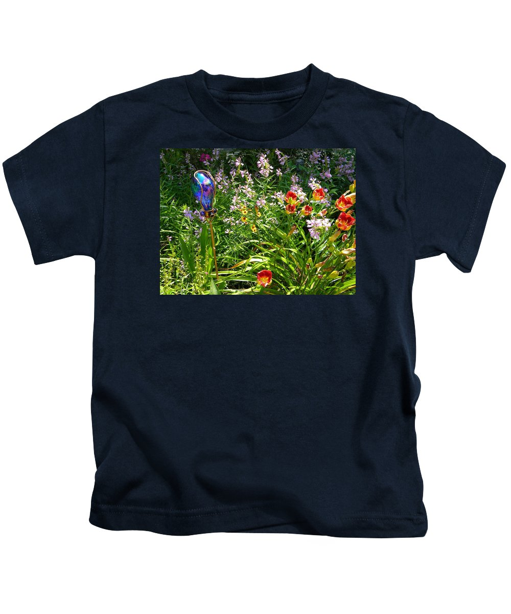 Garden Kids T-Shirt featuring the photograph Garden by Lisa Gardella