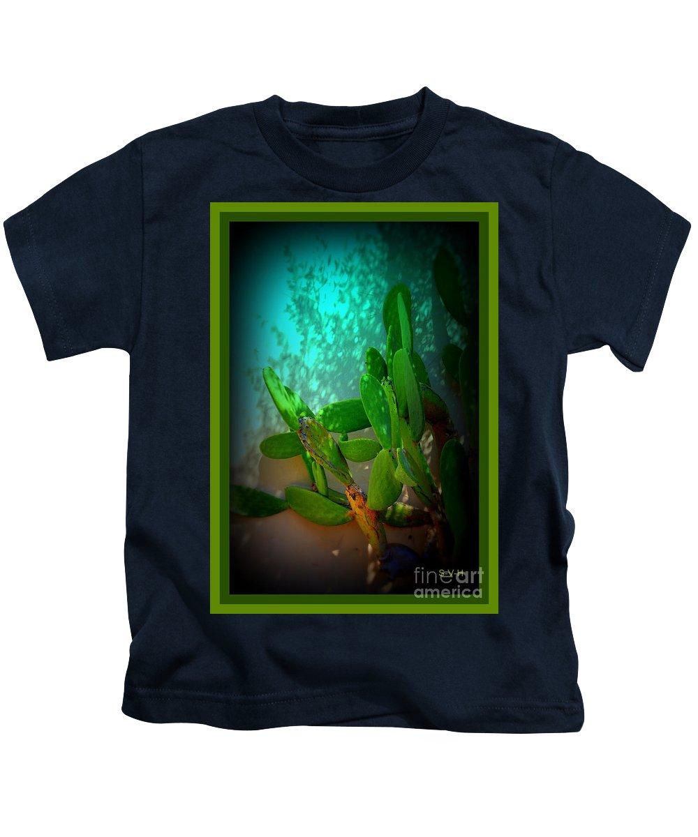 Garden Of Eden Light Kids T-Shirt featuring the photograph Garden Of Eden Light by Susanne Van Hulst