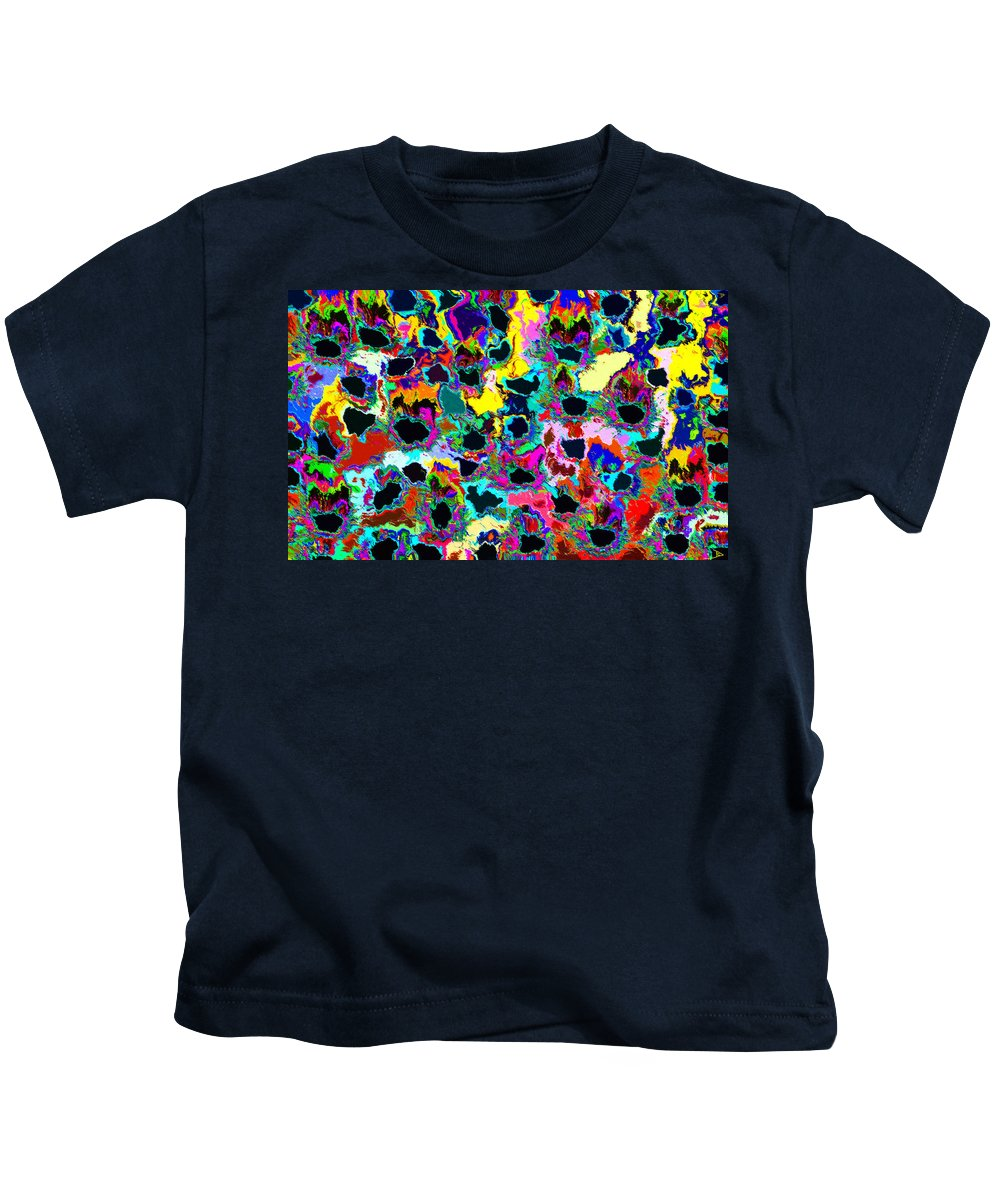 Healing Kids T-Shirt featuring the painting Healing The Heart by David Lee Thompson
