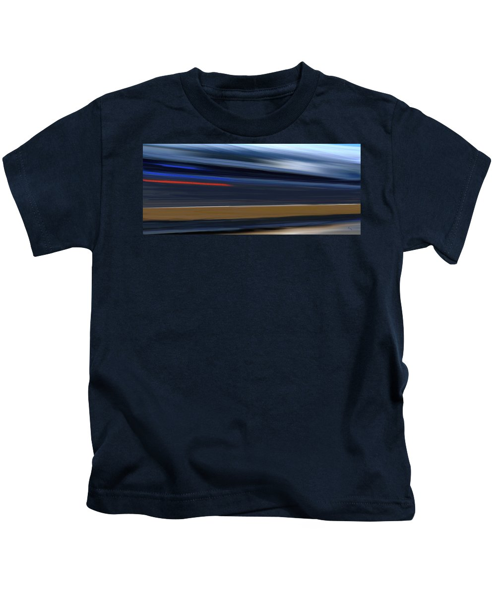 Speed Kids T-Shirt featuring the painting High Speed 4 by Rabi Khan