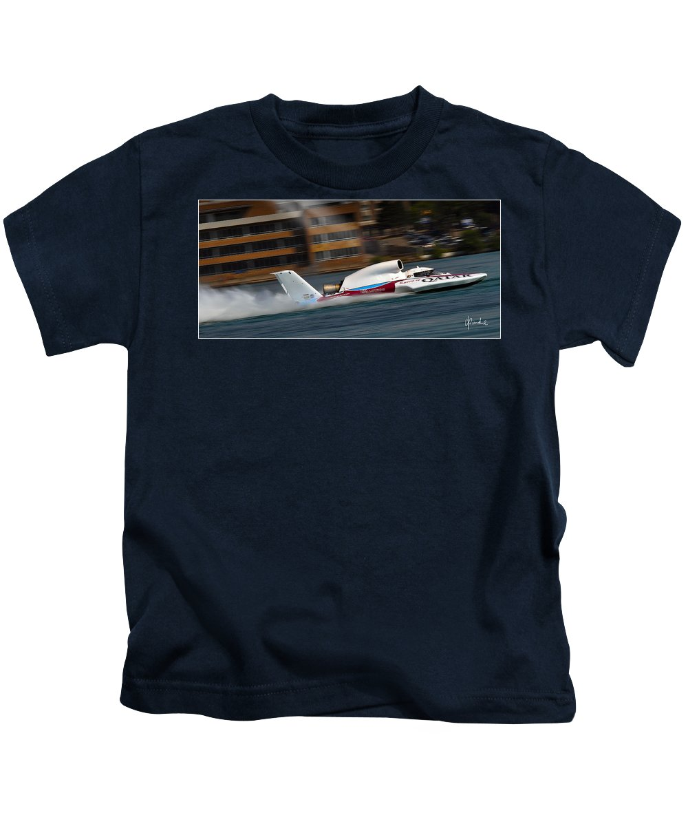 Unlimited Kids T-Shirt featuring the photograph Historic 63rd by Craig Purdie