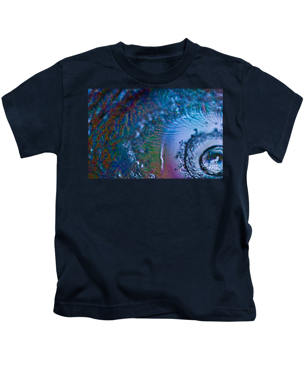 Abstract Kids T-Shirt featuring the photograph Hurricane by Anthony Sacco