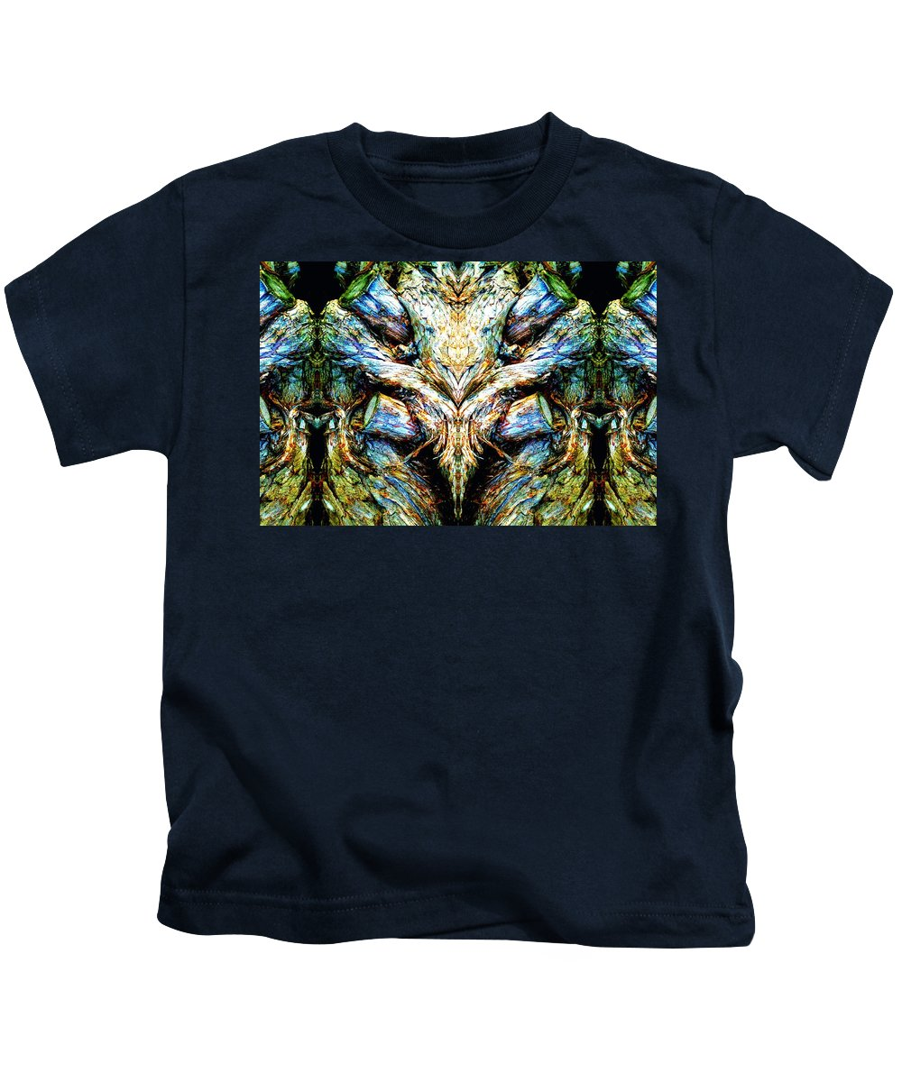 Wood Kids T-Shirt featuring the photograph Ingrained Wings by Marianne Dow