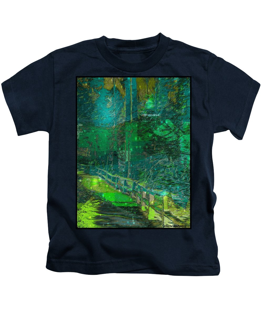 Nature Kids T-Shirt featuring the photograph Into The Wild by Ellen Cannon