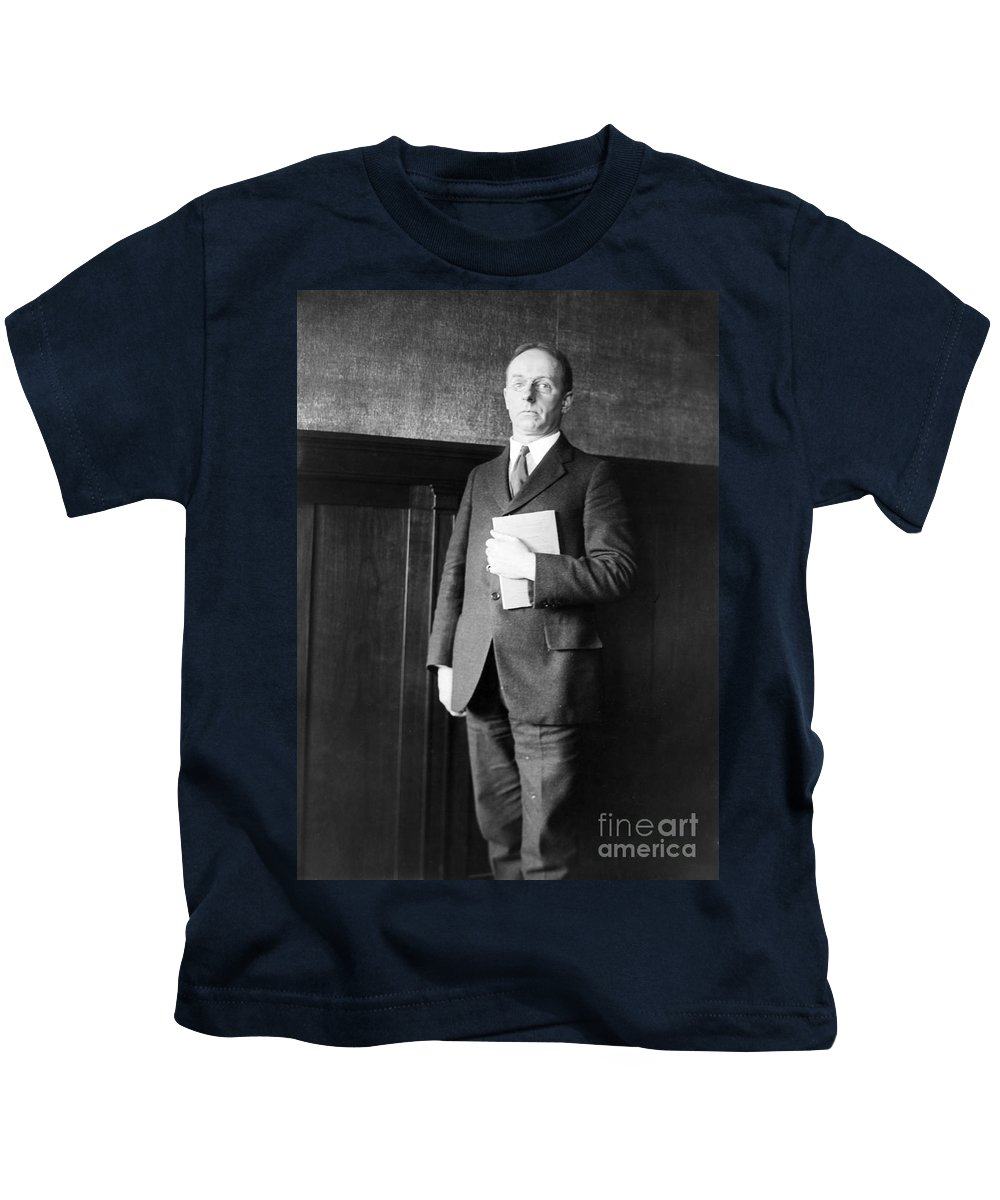 1920s Kids T-Shirt featuring the photograph James Rowland Angell by Granger