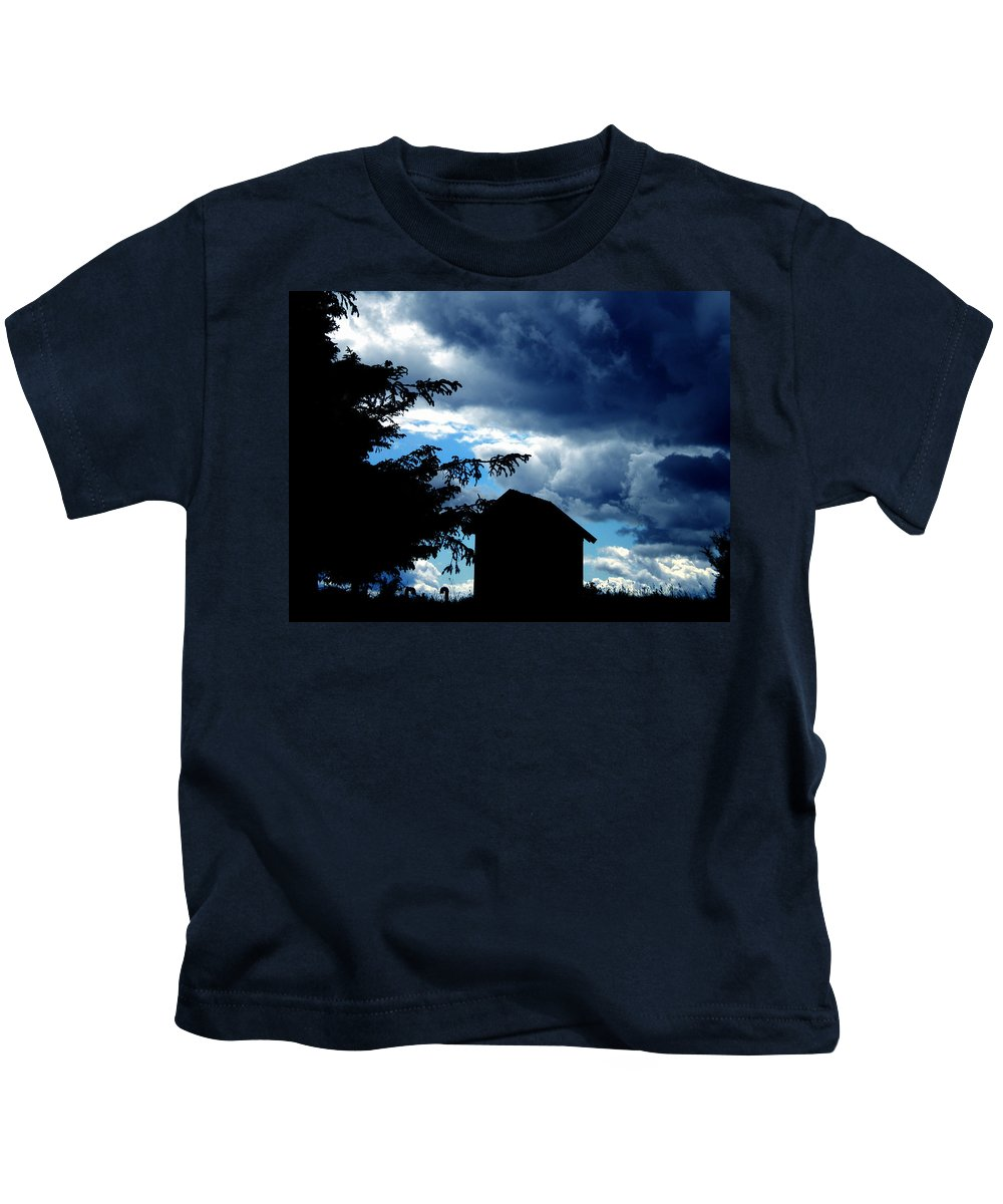 Colette Kids T-Shirt featuring the photograph Livoe Island Late Day Denmark by Colette V Hera Guggenheim