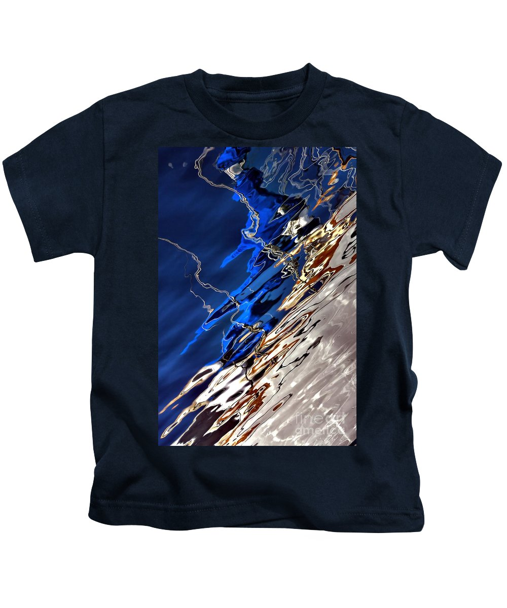 Abstract Kids T-Shirt featuring the photograph Make Believe by Lauren Leigh Hunter Fine Art Photography