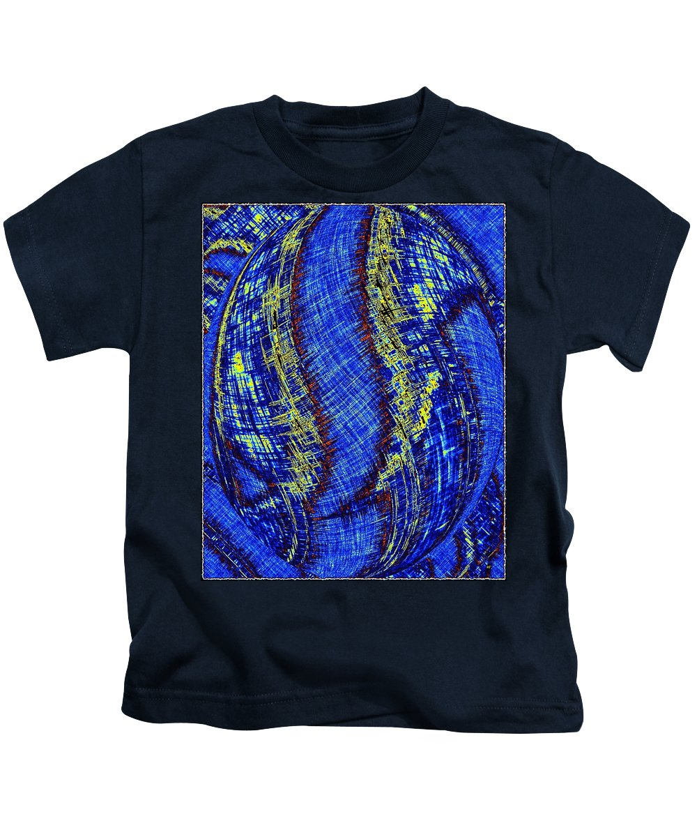 Micro Linear 41 Kids T-Shirt featuring the digital art Micro Linear 41 by Will Borden