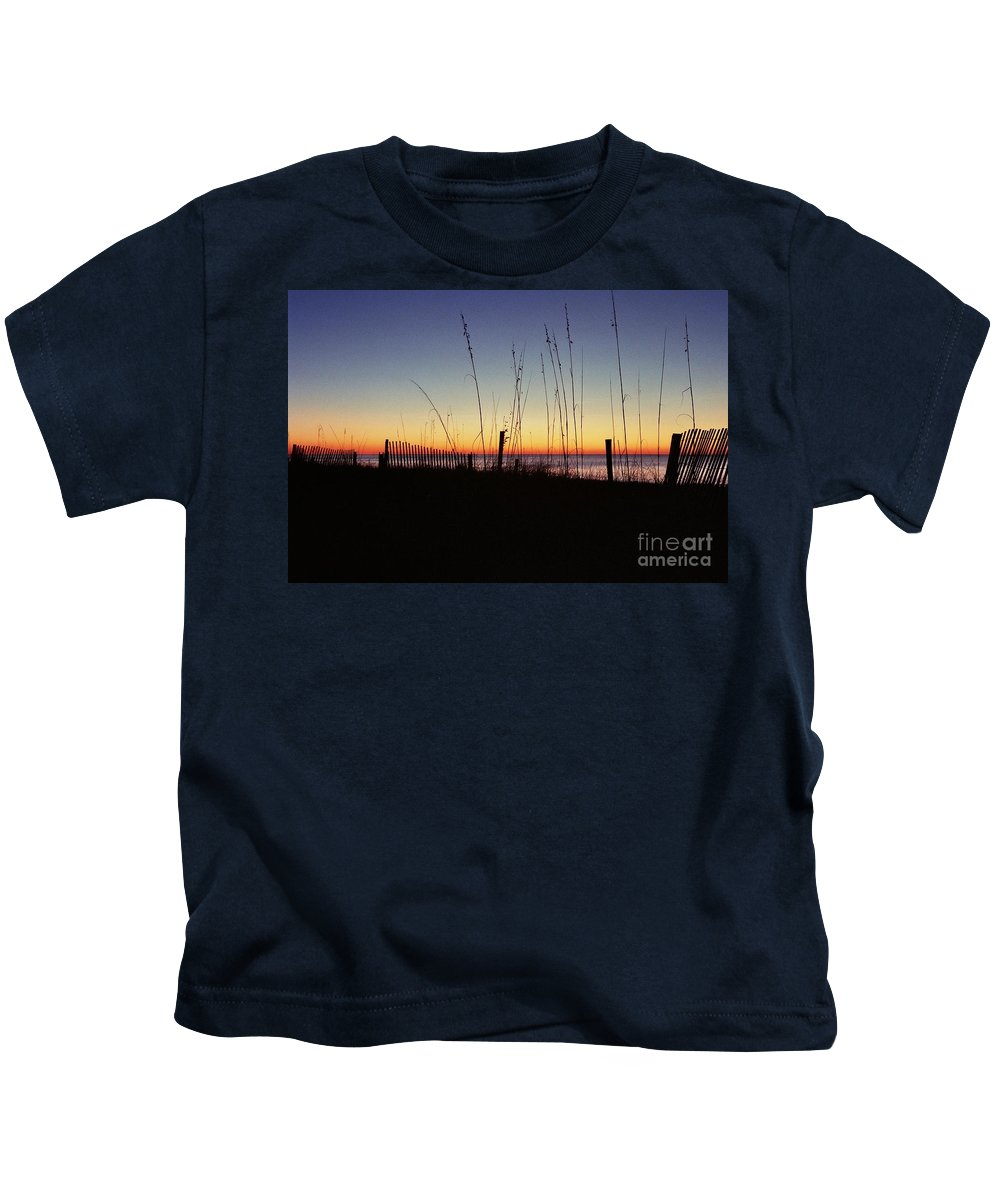 Myrtle Beach Sunrise Kids T-Shirt featuring the photograph Myrtle Beach Sunrise by Allen Beatty