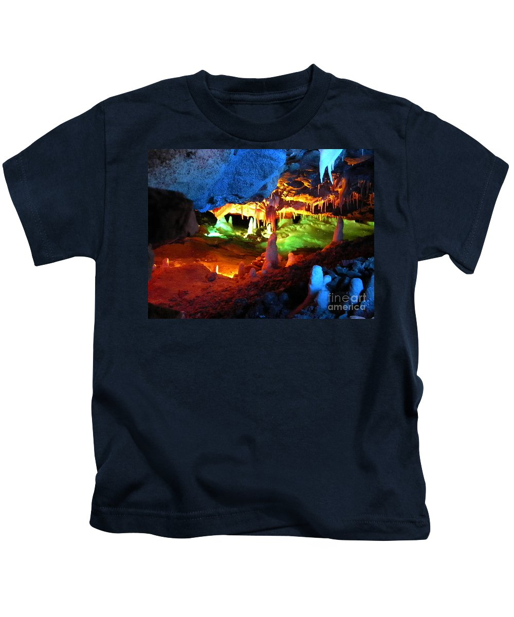 Mystic Kids T-Shirt featuring the photograph Mystic Caverns by Nathanael Smith