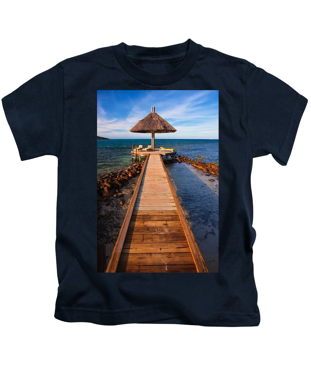 3scape Kids T-Shirt featuring the photograph Perfect Vacation by Adam Romanowicz
