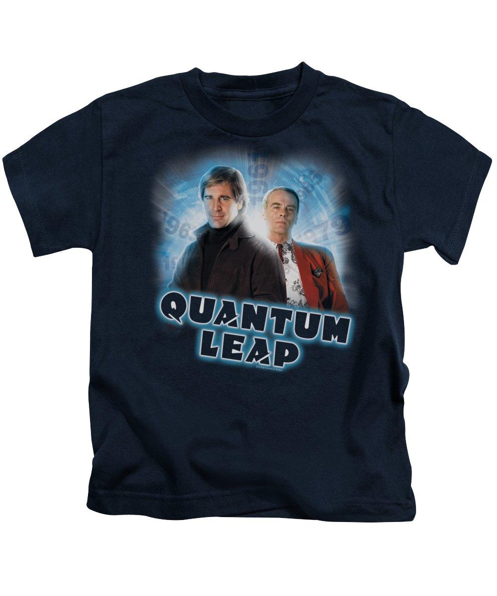 Sam Beckett Kids T-Shirts