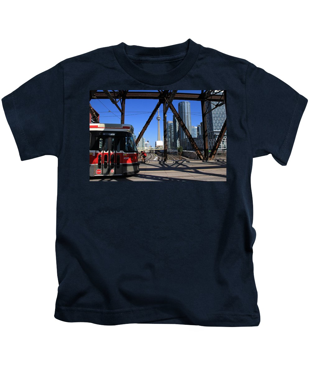 Ttc Kids T-Shirt featuring the photograph Red Rocket 10 by Andrew Fare