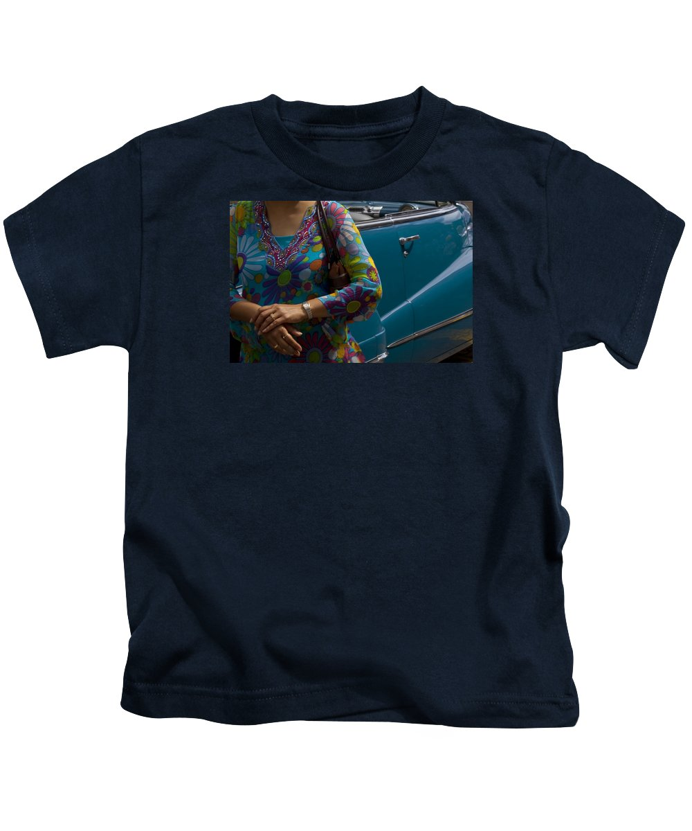 Vintage Kids T-Shirt featuring the photograph Skc 4111 The Vintage by Sunil Kapadia