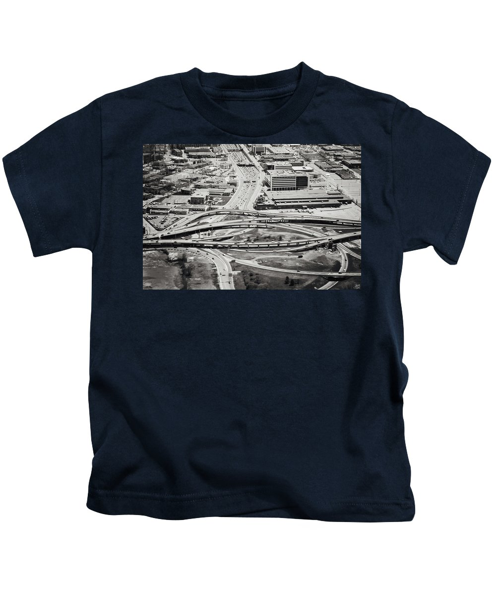 Traffic Kids T-Shirt featuring the photograph Snakes And Commuters by Lisa Knechtel