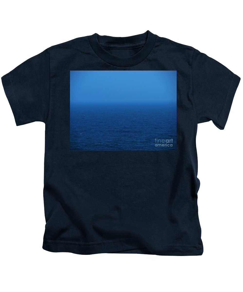 Blue Kids T-Shirt featuring the photograph Stepping Into A Dream by Amanda Barcon