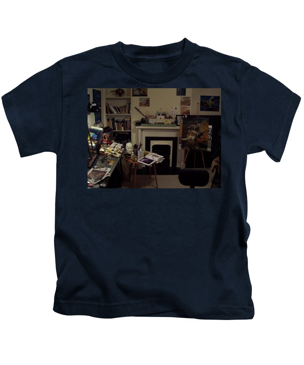 Kids T-Shirt featuring the photograph Savannah 9studio by Jude Darrien