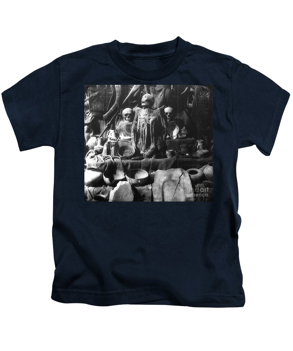 Bones Kids T-Shirt featuring the photograph The Ancient Ones by Paul W Faust - Impressions of Light