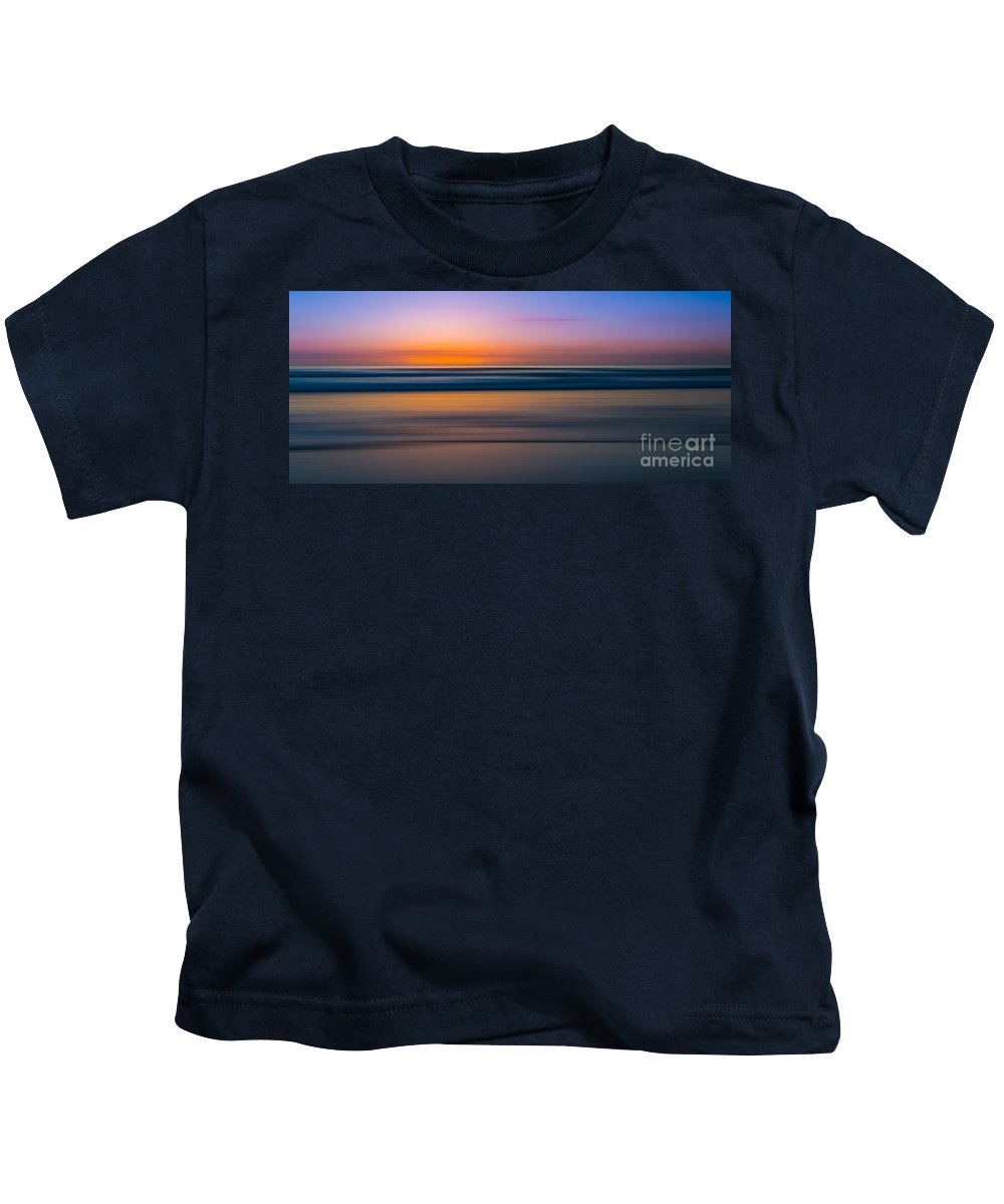 At Peace Kids T-Shirt featuring the photograph Tranquility 2 by Michael Ver Sprill