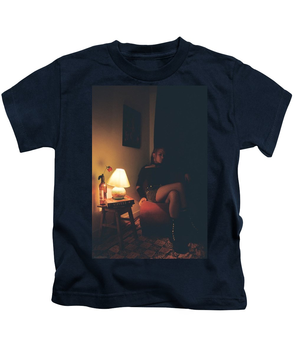 Ulysses Kids T-Shirt featuring the photograph Ulisea by David Cardona