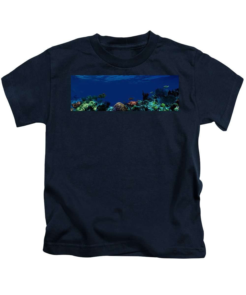 Photography Kids T-Shirt featuring the photograph Underwater by Panoramic Images
